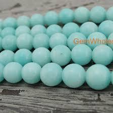 light blue semi precious stone 15 light blue malaysian jade 6mm 8mm 10mm 12mm round