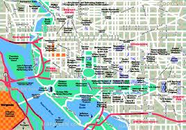 map of washington maps update 16001123 tourist map of washington dc printable
