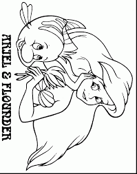 spectacular ariel mermaid coloring pages ariel