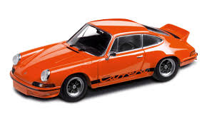 Porsche 911 Orange - 911 rs 2 7 blood orange 1 43 model rs 2 7 collection