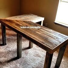 Diy Pallet Desk Pallet Desk Desk Desk Made From Pallets Class Pallet Desk