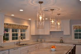 kitchen pendant lights over island luxury in clear glass light