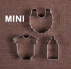 mini baby cookie cutters baby fondant cutters the bakers shop