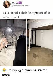 Meme Chair - so i ordered a chair for my room off of and 2 follow