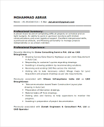 Best Format For Resumes by 7 Draftsman Resume Templates Free Word Pdf Document Downloads