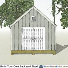 Garden Shed Plan 12x16 Cape Cod Garden Shed Plans