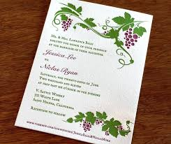 vineyard wedding invitations winery wedding invitations 3745 and winery vintage vineyard