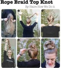 hairshow guide for hair styles summer hair tutorials a top knot guide hey gorgeous