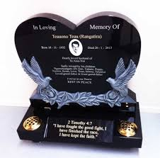 affordable headstones custom affordable headstones available at our auckland showrooms
