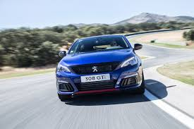 peugeot sports car peugeot 308 gti facelift 2017 review by car magazine