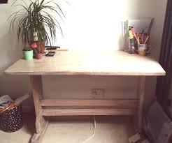 Large Wooden Desk Large Wooden Desk In Crystal Palace London Gumtree