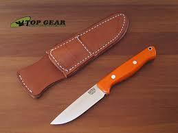 bark river kitchen knives bark river gunny knife cpm 3v stainless steel blaze orange