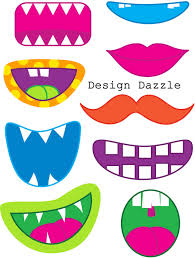 halloween birthday clipart mouths for national smile day craft science summer reading 2014