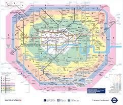 East Coast Time Zone Map by A London Tube Map Can Save One A Major Headache When Traversing