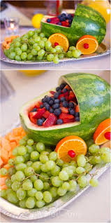 Fruit Decoration For New Year by Best 25 Baby Shower Fruit Ideas On Pinterest Baby Shower