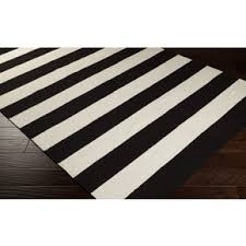 Black Area Rugs Black And White Area Rug