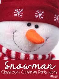 diary of a not so wimpy teacher snowman themed classroom