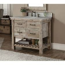 24 Inch Bathroom Vanity Cabinet Reclaimed Barnwood Open Vanity Rustic Bathrooms Vanities And Cabin
