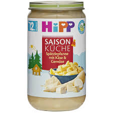 saisonküche hipp saison küche bio spätzle mit käse gemüse günstig