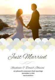 wedding announcement template free printable wedding announcement templates greetings island