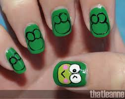 hello kitty frog nail art pinterest frogs