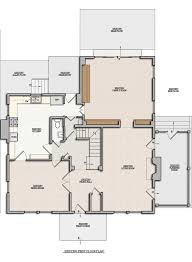 collections of colonial remodel open floor plan free home