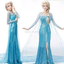 new blue princess costume cosplay women lady girls tulle