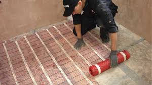 tile heating floor heating warmup