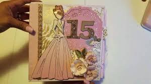 quinceanera albums blush glam quinceañera mini album
