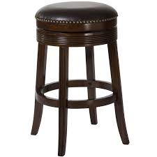 leather saddle bar stools furniture custom backless bar stool design for your kitchen