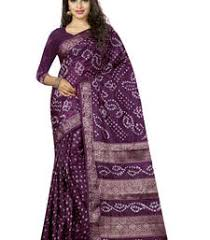 Buy Violet Embroidered Art Silk Buy Turquoise Embroidered Art Silk Sarees Saree With Blouse Online