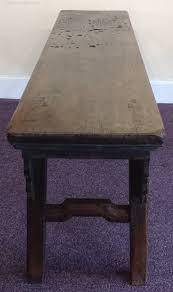 chinese hardwood bench antiques atlas
