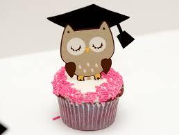 graduation owl wise owl cupcakes graduation hoot hoot congratulations flickr