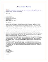 Good Example Of Cover Letter cool design unique cover letter 1 a very good sample examples cv