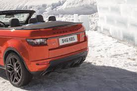 convertible land rover vintage 2017 range rover evoque convertible is a go anywhere droptop