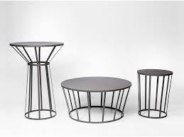 La Redoute Table De Salon by Table Bistrot Hollo Acier Design Petite Friture Petite Friture