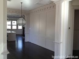 Wainscoting Dining Room Renovation Rehab Wonderful Wainscoting