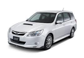 white subaru car 2009 subaru exiga 2 0gt tuned by sti review top speed