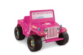 barbie red cars fisher price power wheels barbie jeep 6 volt battery powered ride
