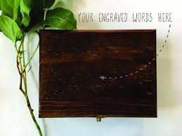 engravable box create your own custom engraved wooden box ring box gift box