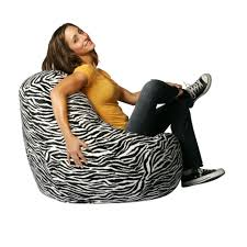 bean bag factory zebra print velvet bean bag chair cover
