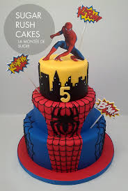 spider man cake i like the bottom two layers take off the top