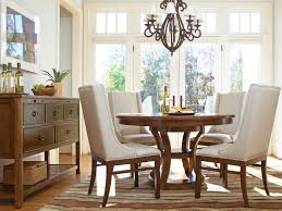 Dining Room Accent Chairs by Chair Dining Room White Round Pedestal Table With Wooden Cream And
