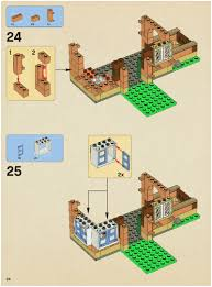 Hogwarts Floor Plan Lego The Burrow Instructions 4840 Harry Potter