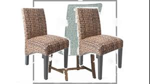 decorating charming seagrass dining chairs with black wooden legs