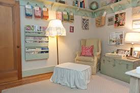 Shabby Chic Craft Room by Business Craft Ideas Home Office Shabby Chic Style With Slipcover