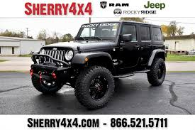jeep sahara lifted search results 4 4 u0027s rocky ridge lifted trucks u0026 jeeps for sale