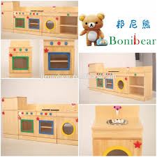 children wooden role play kitchen furniture toy buy wooden