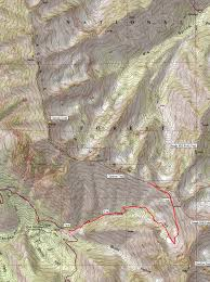 Cascade Mountains Map Climbing Cascade Mountain In Orem
