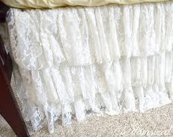 3 tiered crib skirt etsy